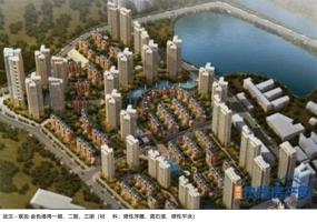 武汉--联投·金色港湾一期、二期、三期(材-料:弹性浮雕、真石漆、弹性平涂)
